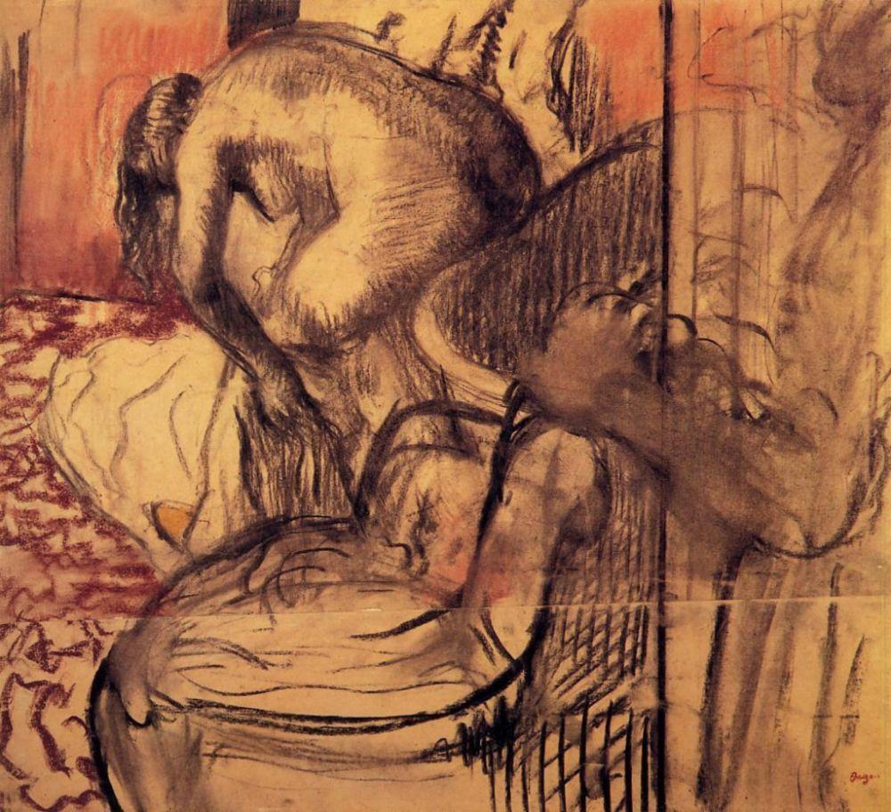 Эдгар Дега. После ванны