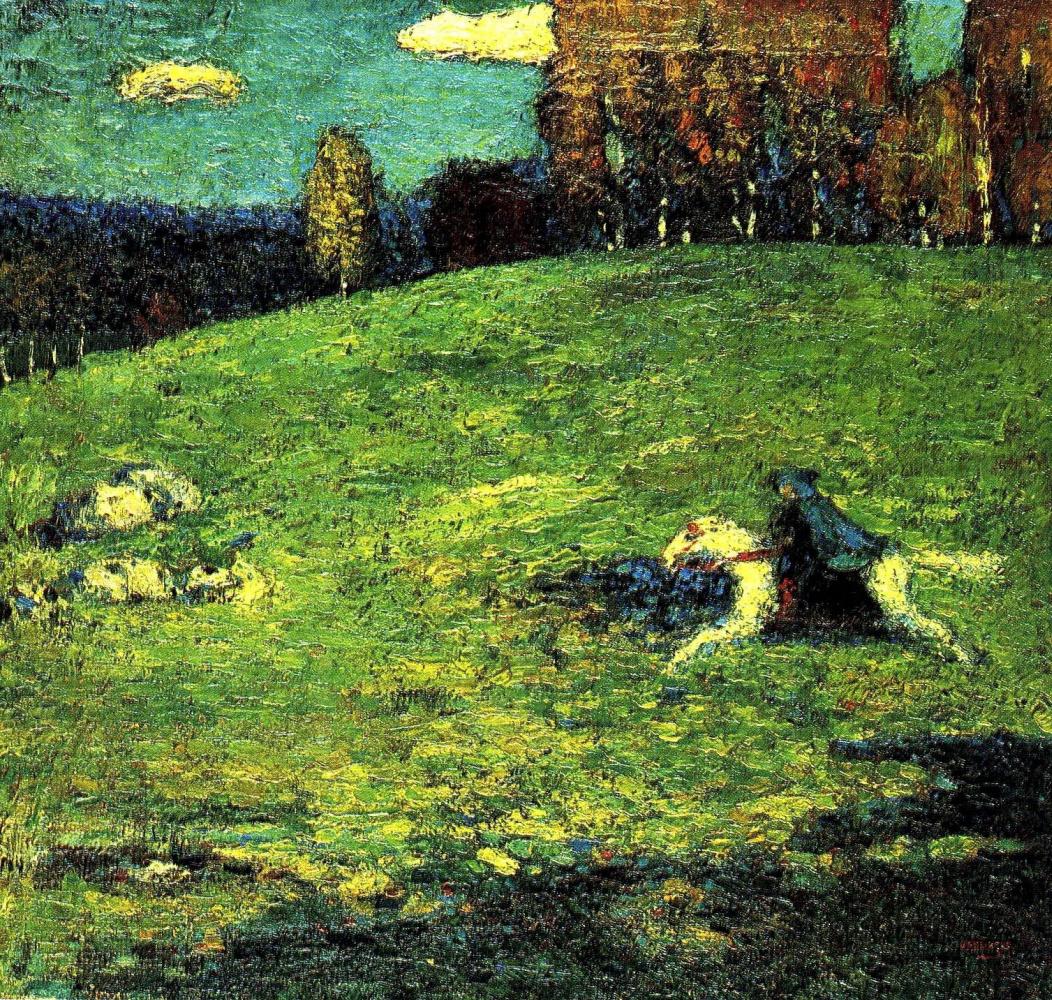 Wassily Kandinsky. Blue rider