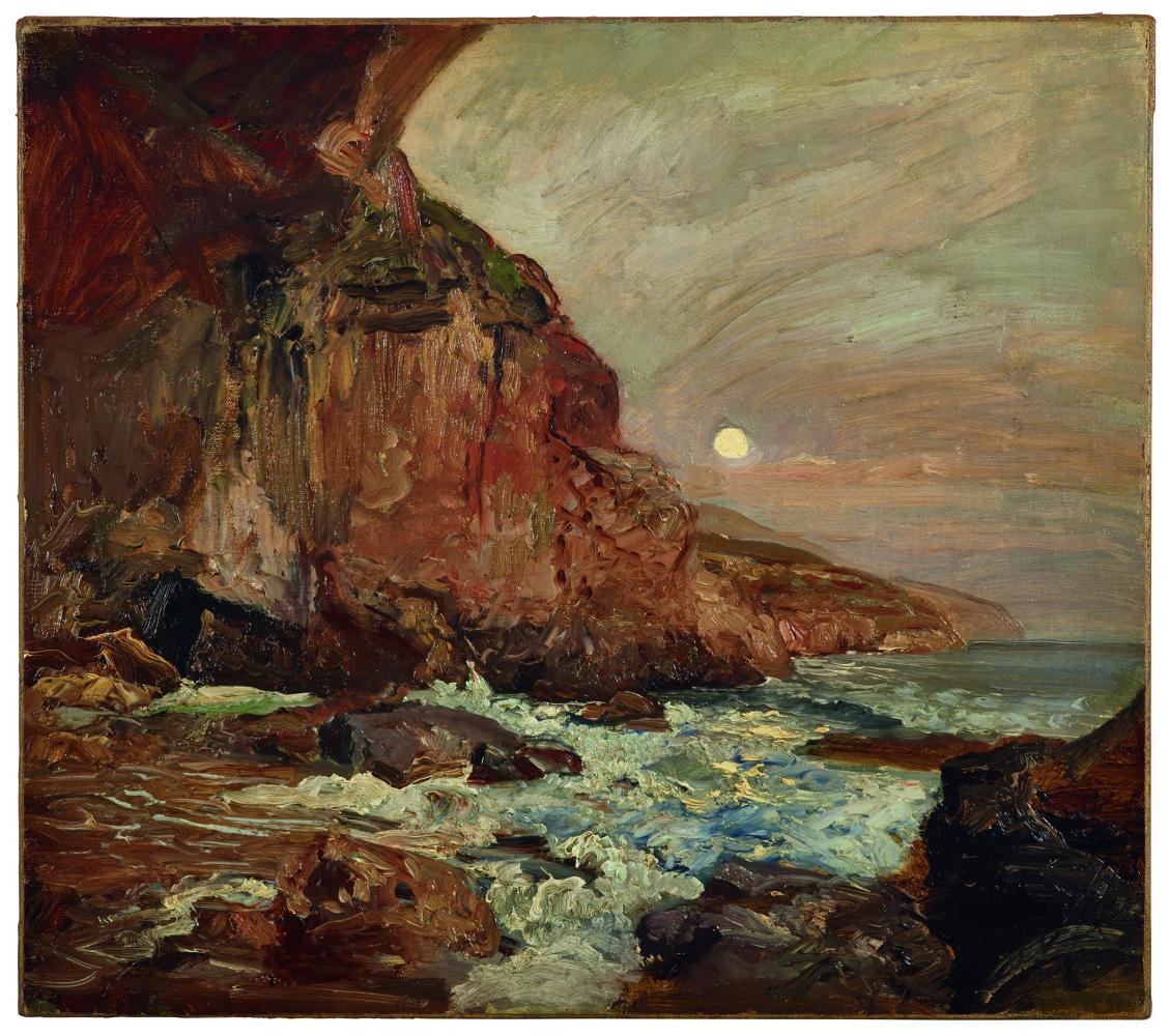 Emil Jacob Schindler. Coast near Ragusa