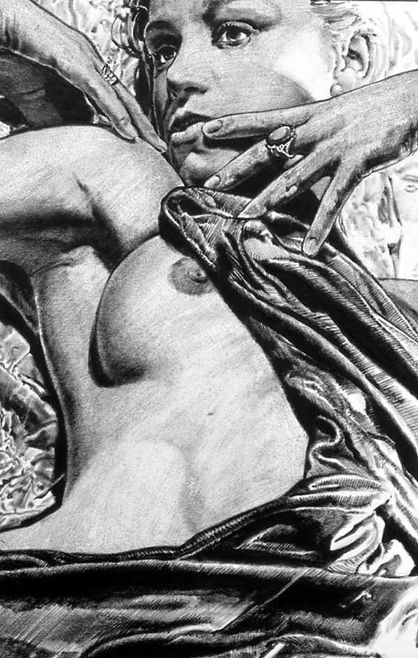 Жан-Клод Клаеус. Эвриала, набросив халат
