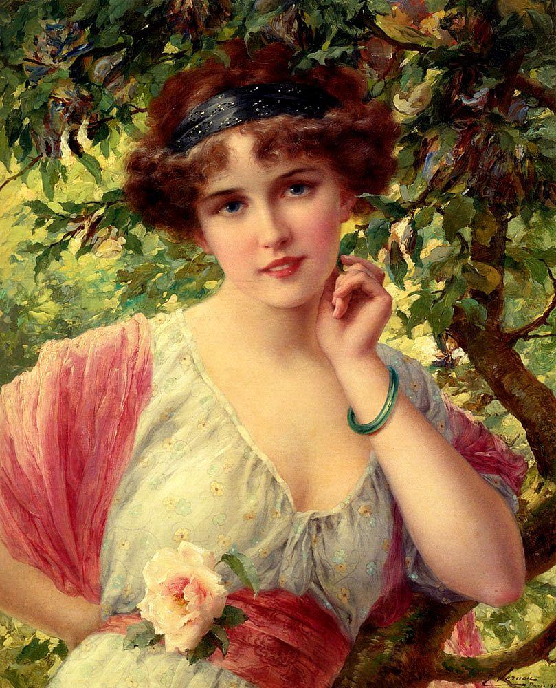 Emile Vernon. Summer rose. 1913