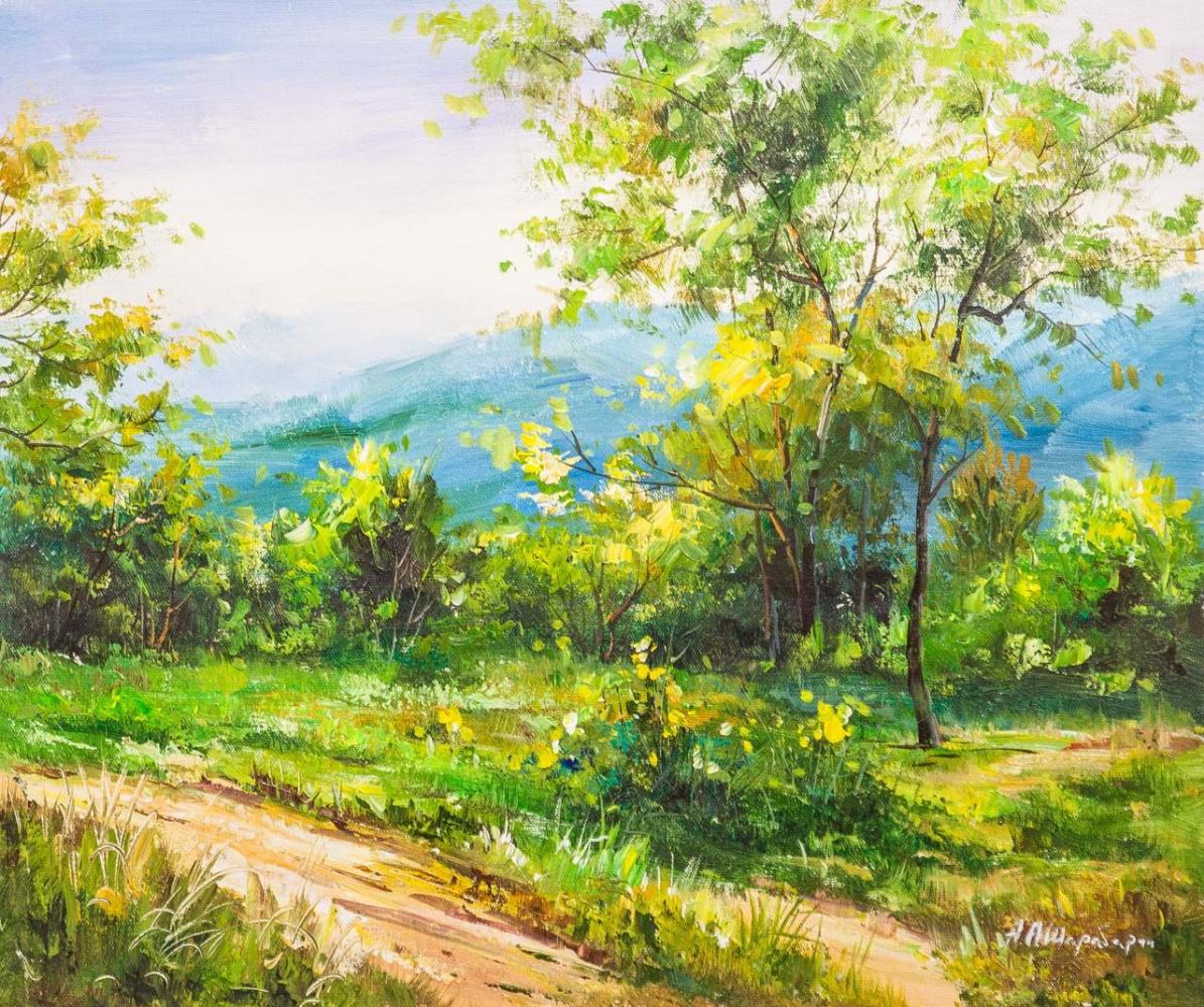 Andrey Sharabarin. Mountain path. Altai