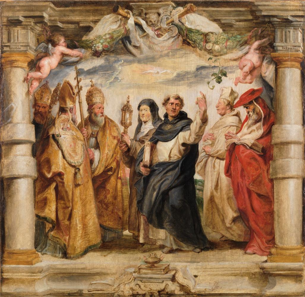 Peter Paul Rubens. The Defenders of the Eucharist