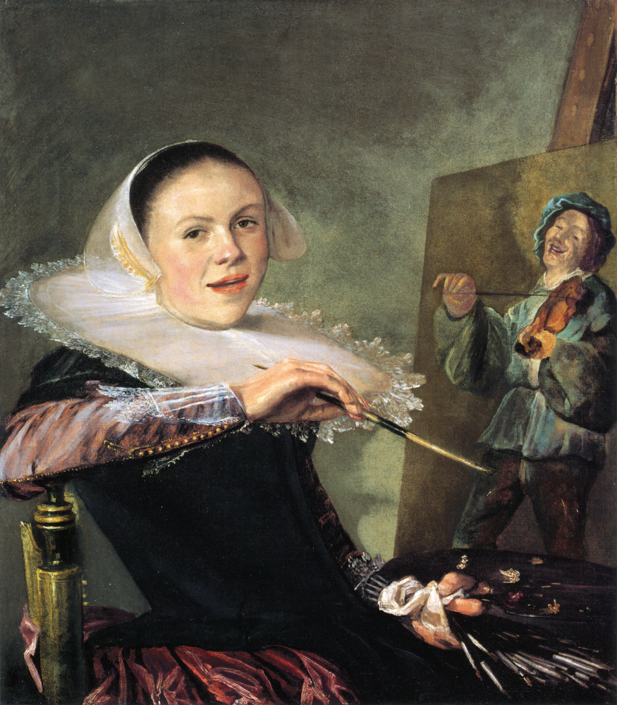 Judith Leyster. Self-portrait
