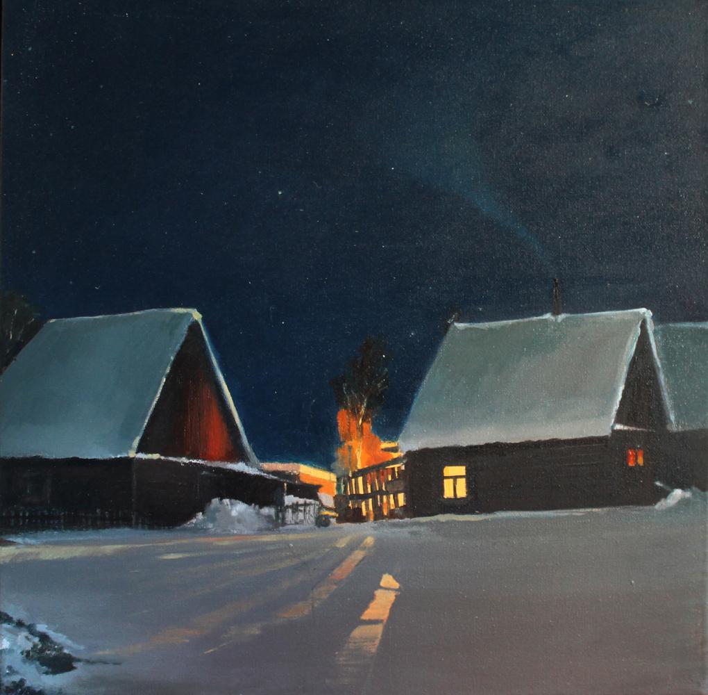 Alessia Lisenko. Night beacons
