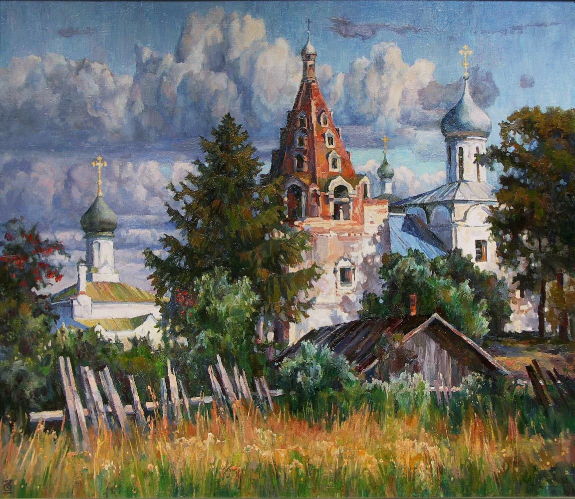 Oleg Borisovich Zakharov. The Year Of The Lord. ( Pereslavl-Zalessky. Svyato-Troitsky Danilov p., mon-Pb.