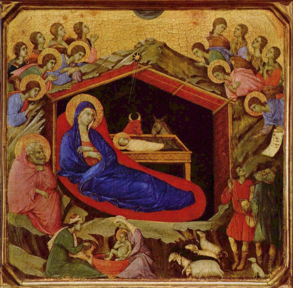 Duccio di Buoninsegna. Christmas