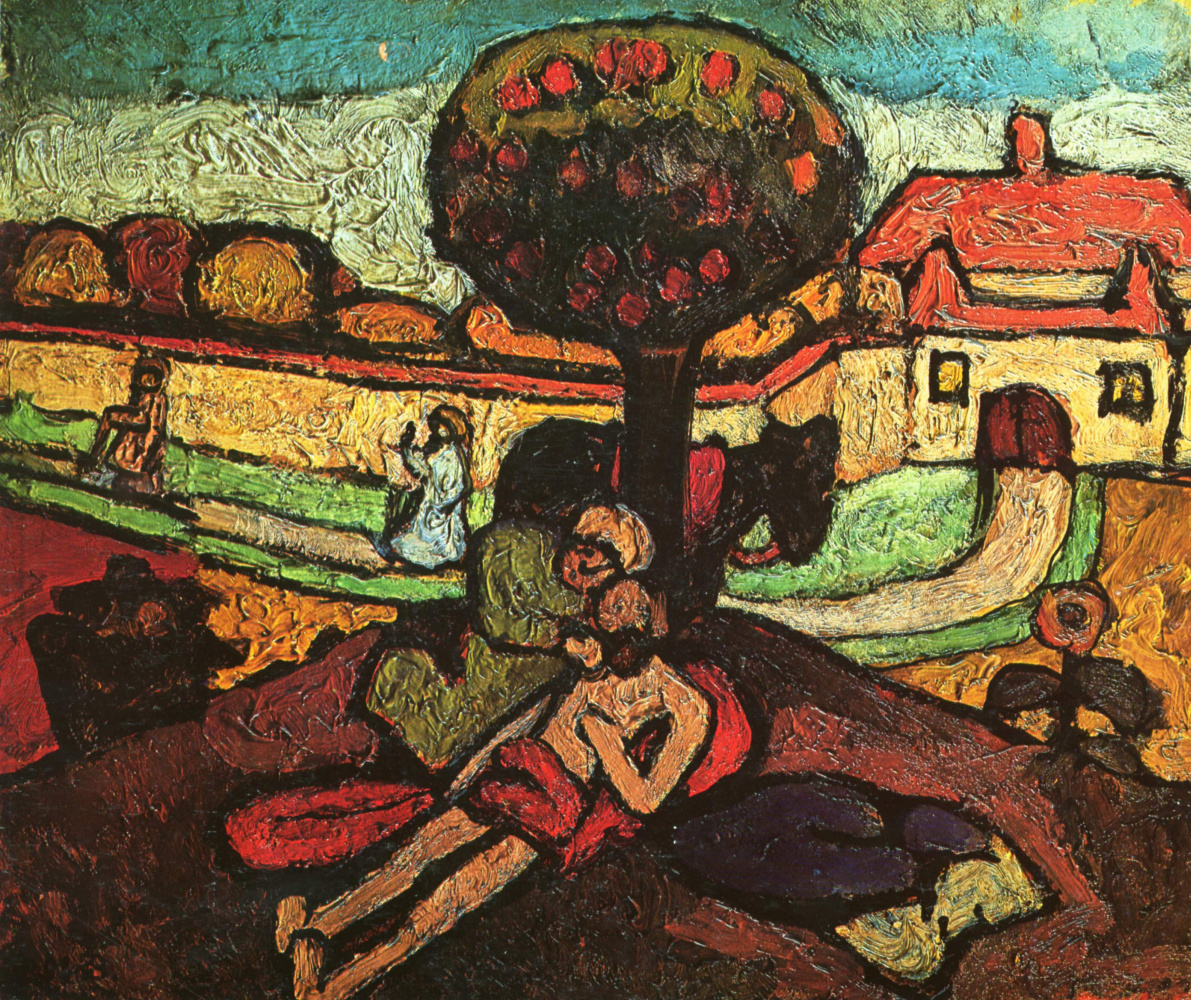 Paula Moderzon-Becker. The merciful Samaritan