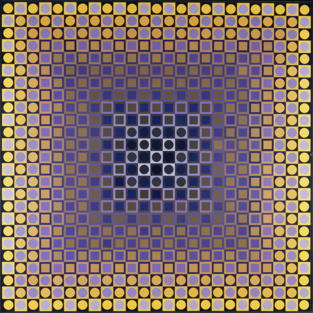 Victor Vasarely. Dream
