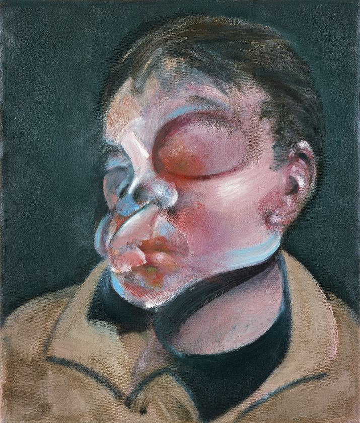 Francis Bacon. Self-portrait with injured eye
