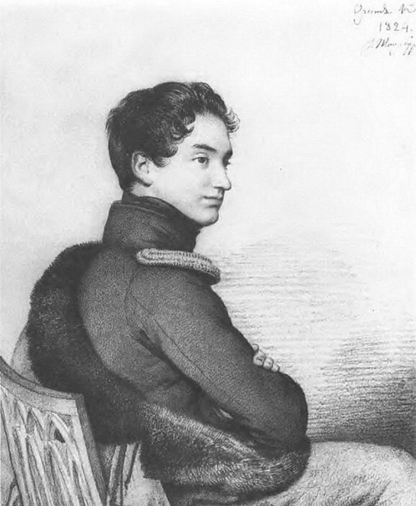 Orest Adamovich Kiprensky. Portrait of Count Sergei Petrovich Buturlin