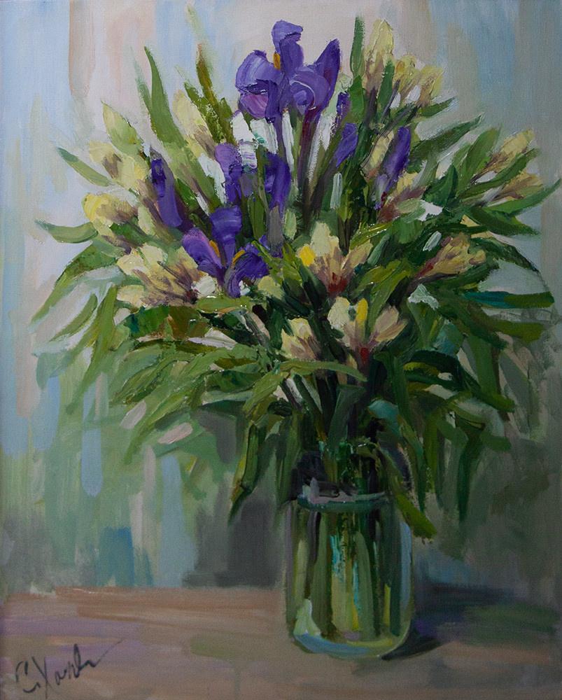 Svetlana Holodnyak. Flowers