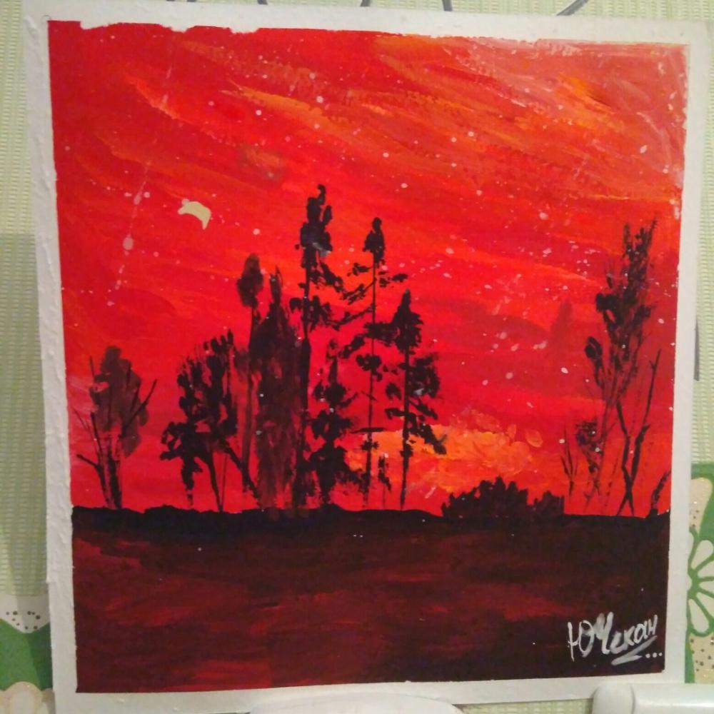 Julia Sergeevna Chekan. Bloody sunset