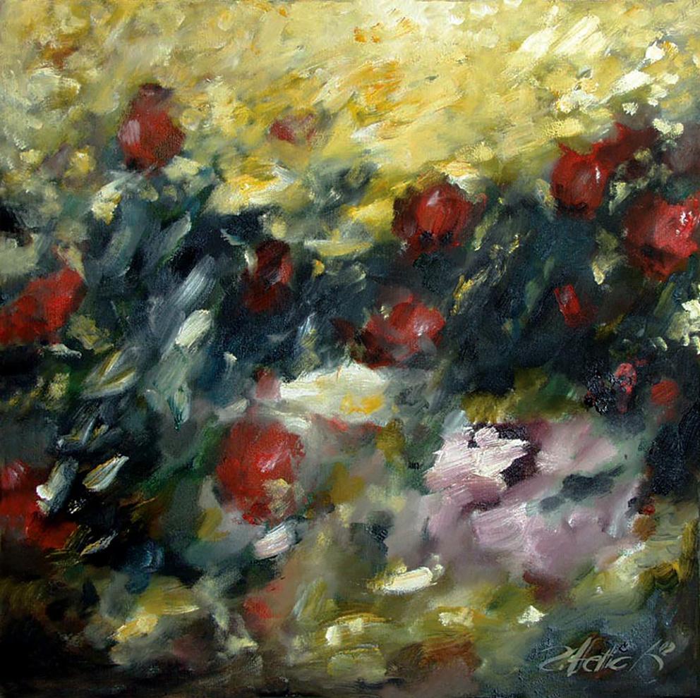 Robert Hettich. Цветочное поле