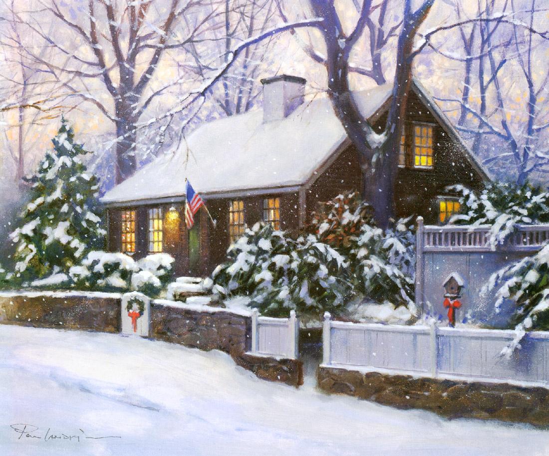 Рождественские картинки американских художников, картинки