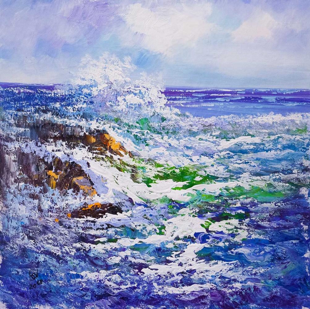 Brian dupre. In the blue sea, in the foamy sea ... N2