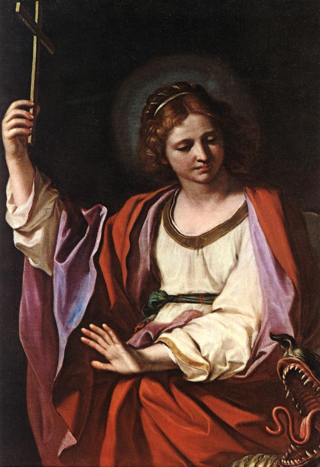 Giovanni Francesco Guercino. Saint Margaret