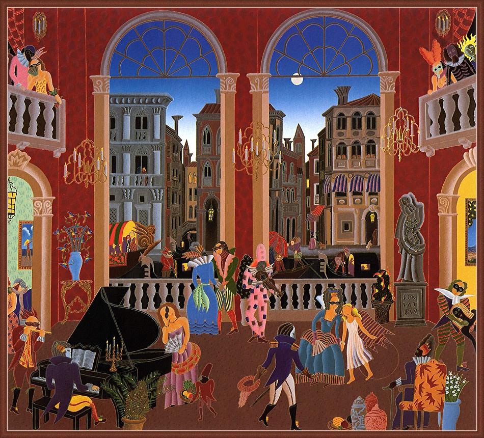 Thomas McNight. The carnival of Venice