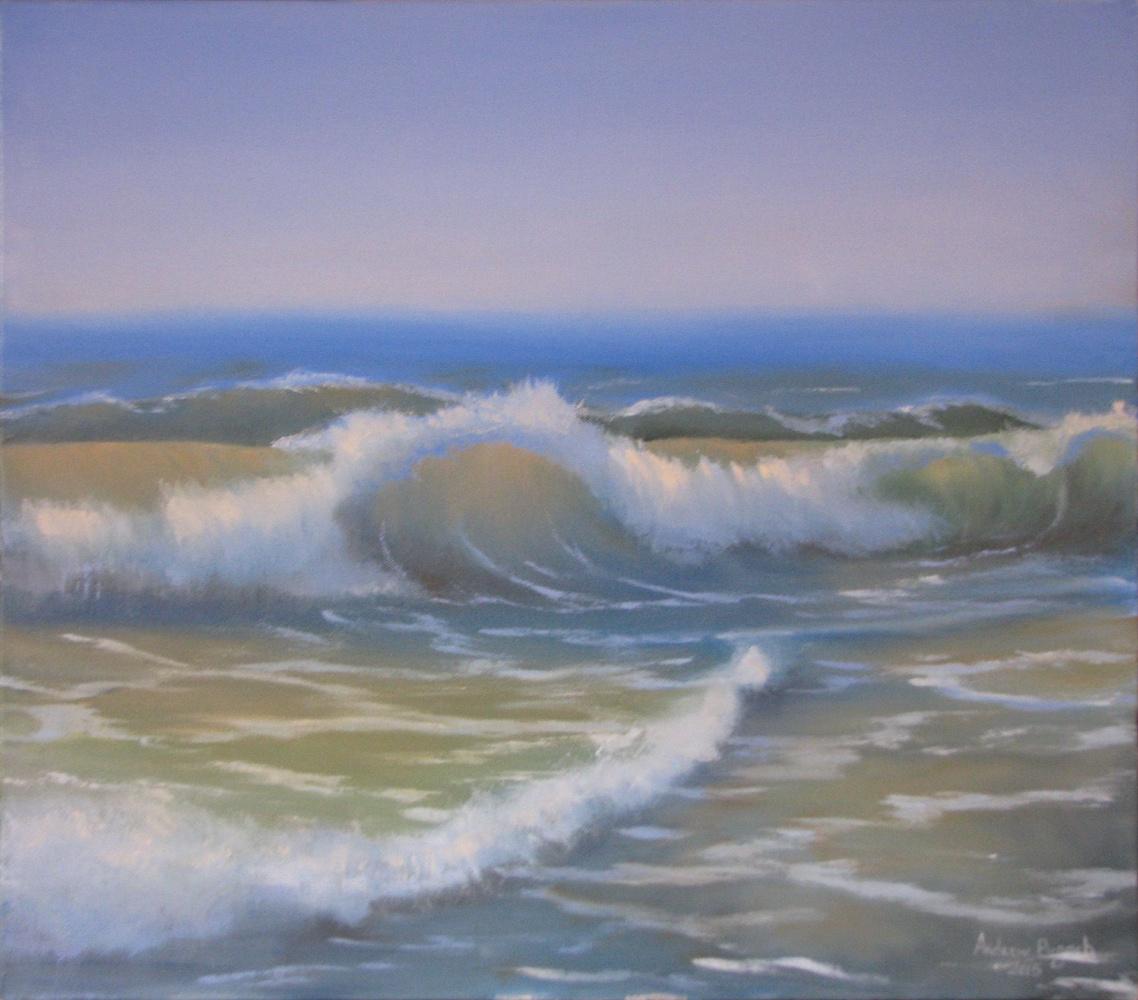 Andrew Pugach. Transparent wave