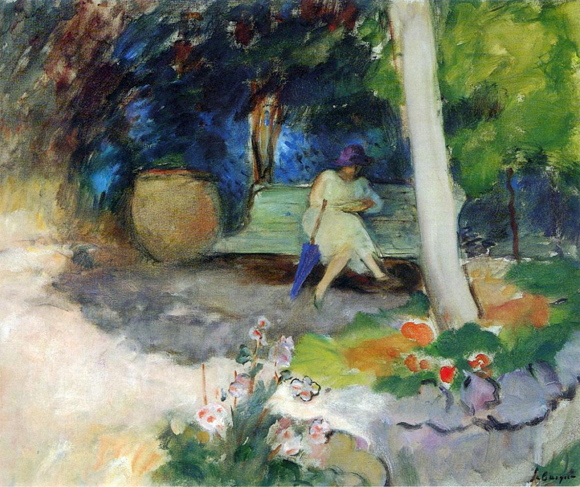 Анри Лебаск. В саду