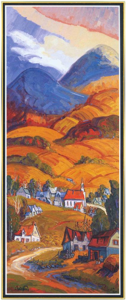 Норманд Бойсверт. Деревня горы Шарлевуа