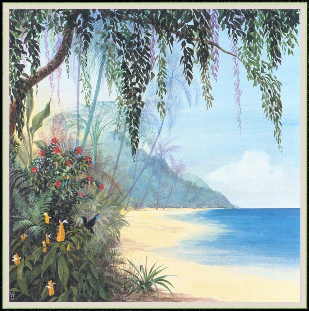 Уильям Вуд. Певчая пляжная птица