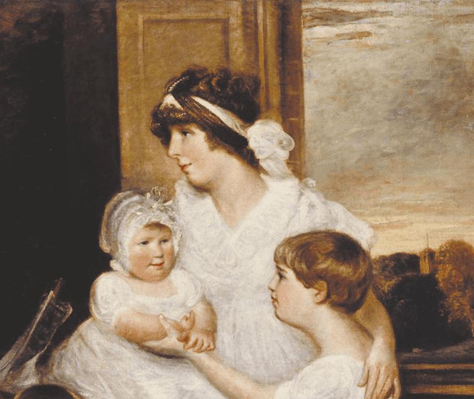 John Constable. Family Bridges. Fragment II