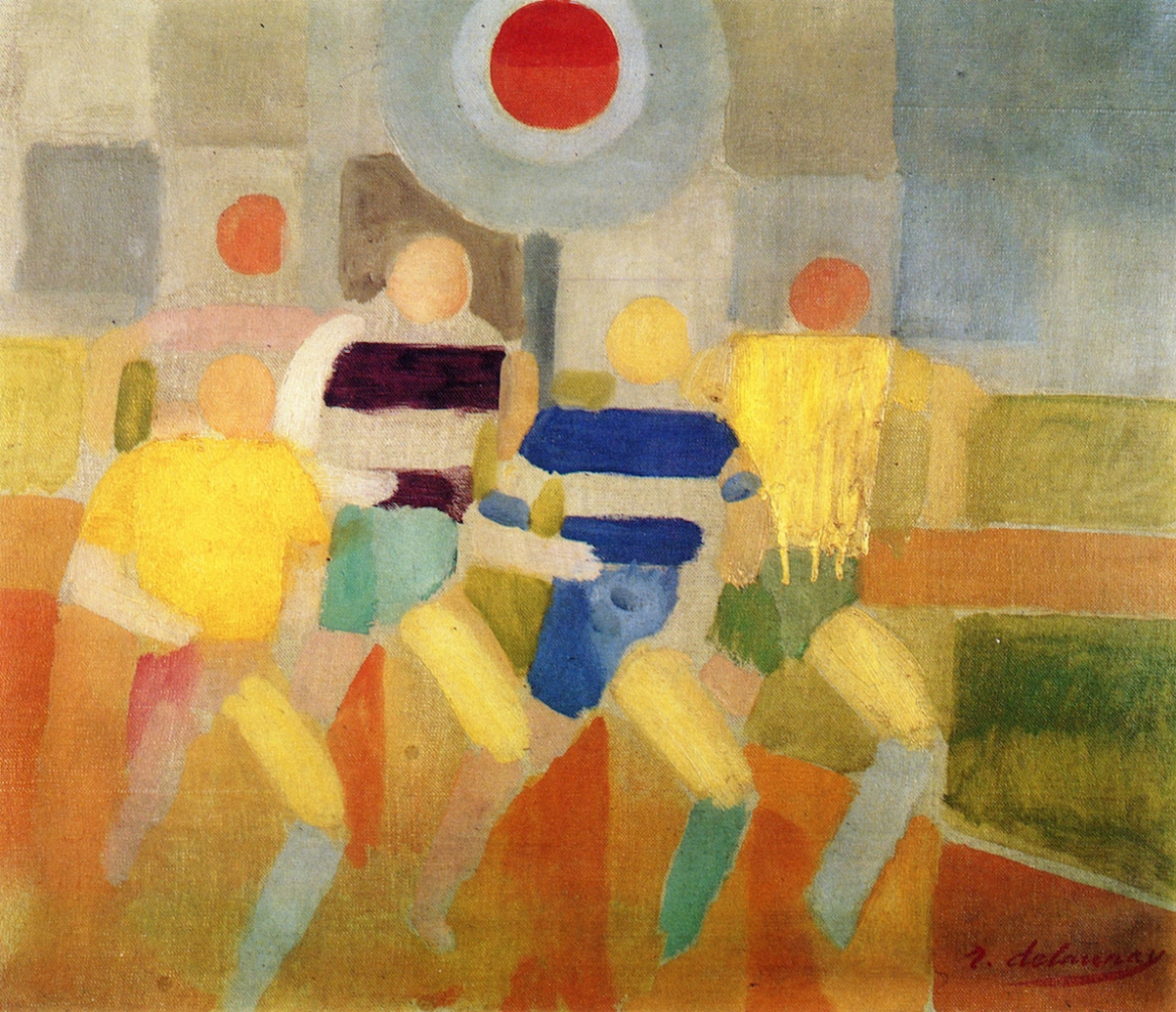 Robert Delaunay. Race Walkers