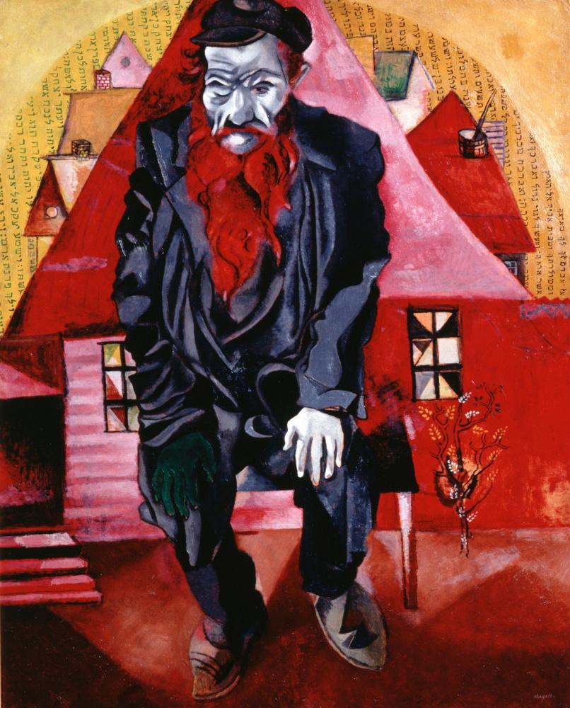 Марк Захарович Шагал. Еврей в красном