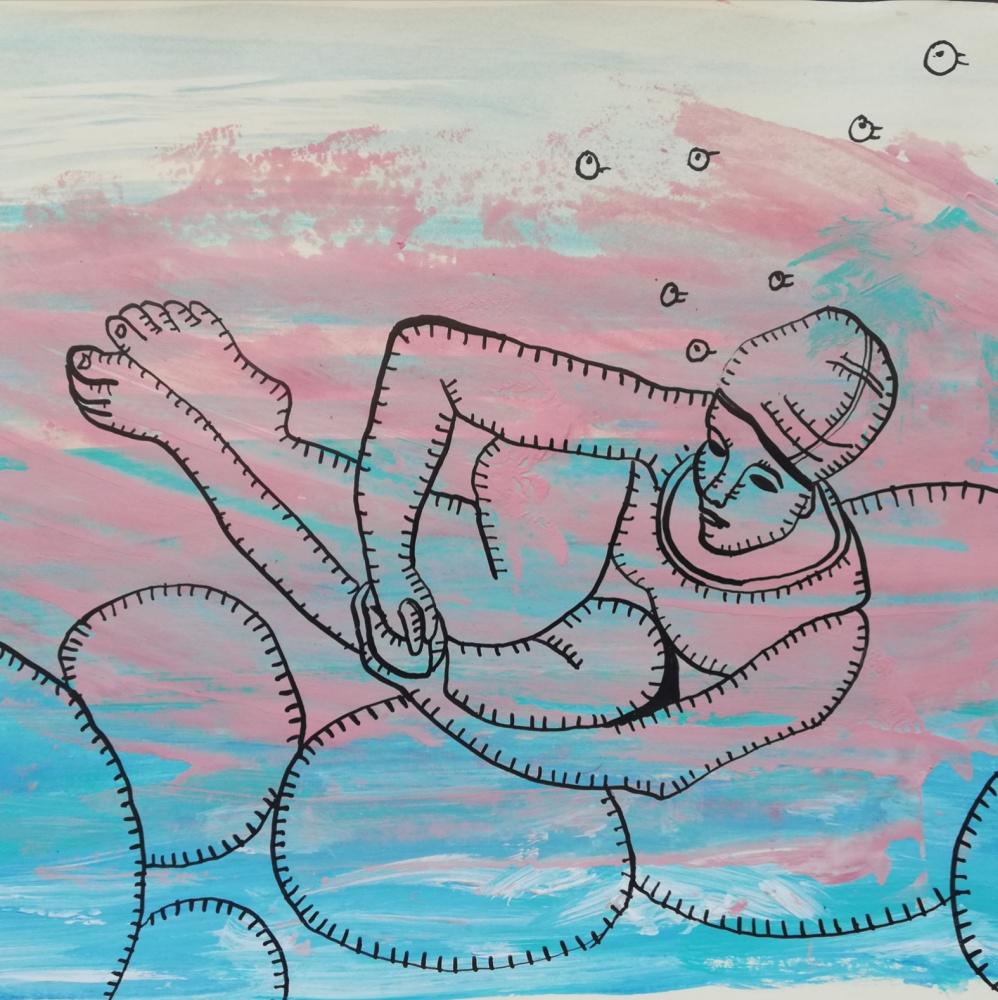Olga Grig. Under water