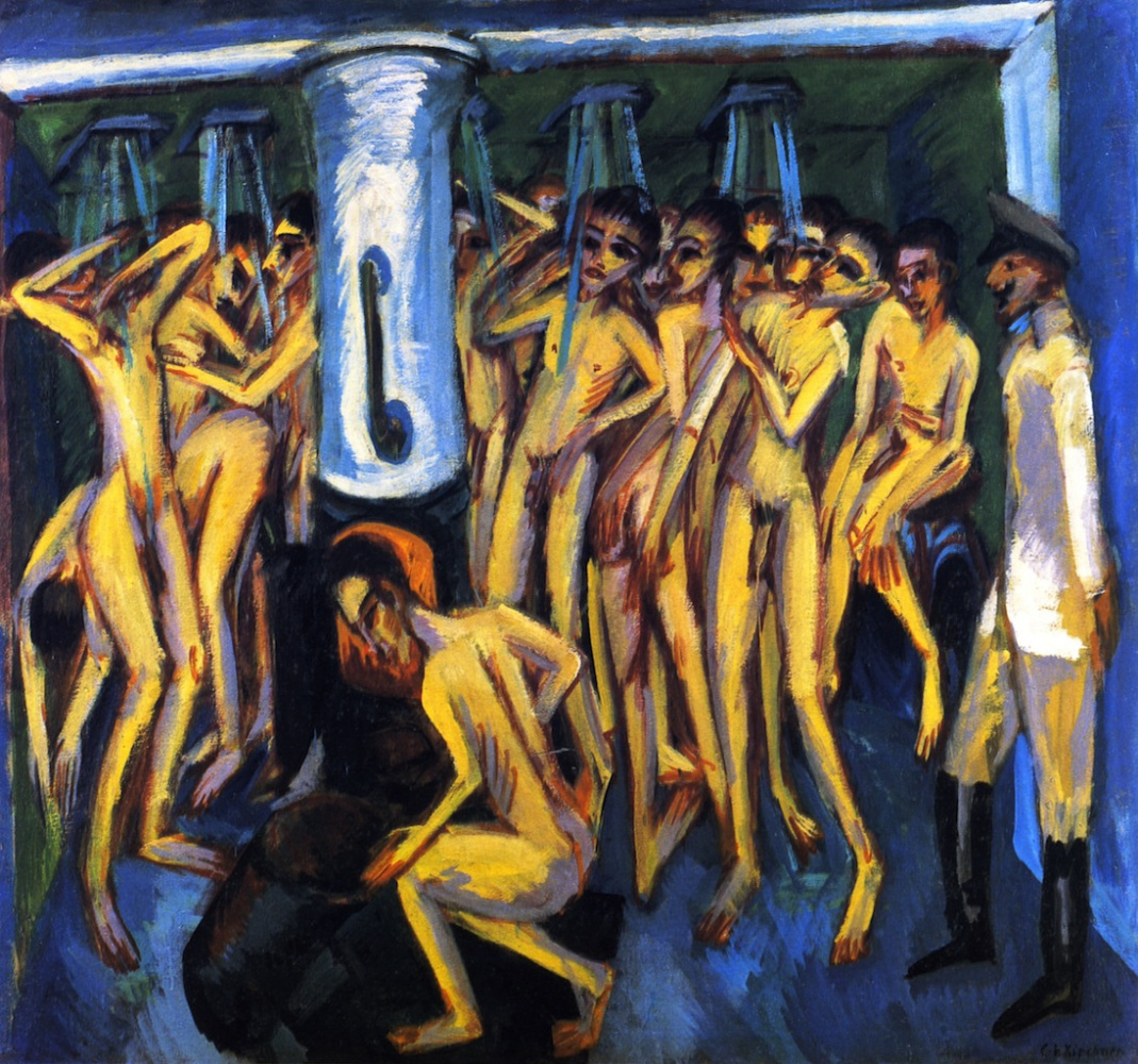Ernst Ludwig Kirchner. The gunners