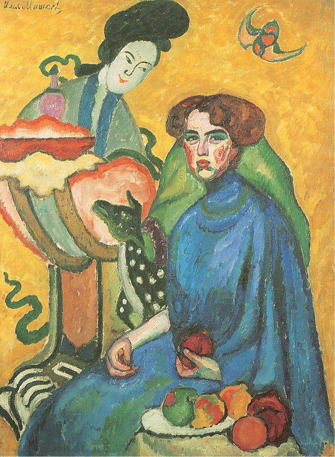 Ilya Mashkov. Portrait Of E. I. Kirkcaldy
