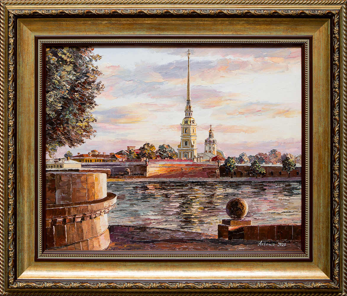 Artemis. View of the Peter and Paul Fortress
