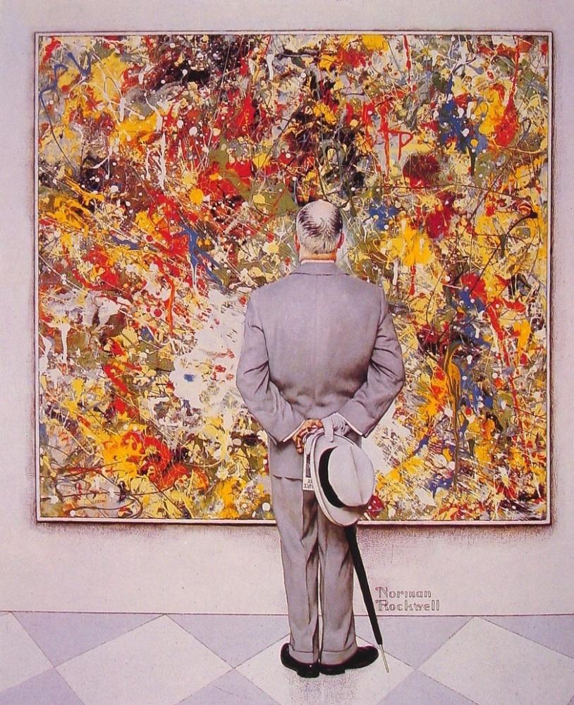 "Норман Роквелл. Знаток. Обложка журнала ""The Saturday Evening Post"" (13 января 1962 год)"
