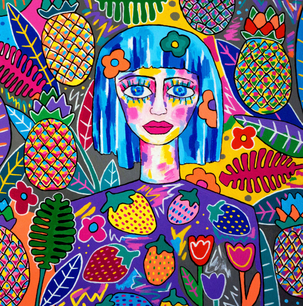 Sonya Frolova. Tropical girl