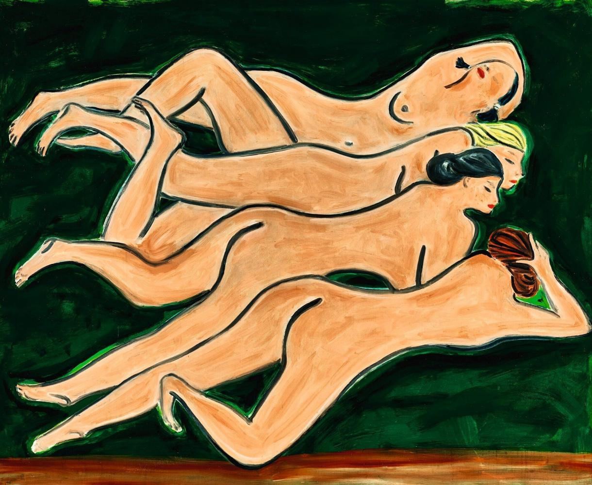 Sanya (Sanya). Four nudes
