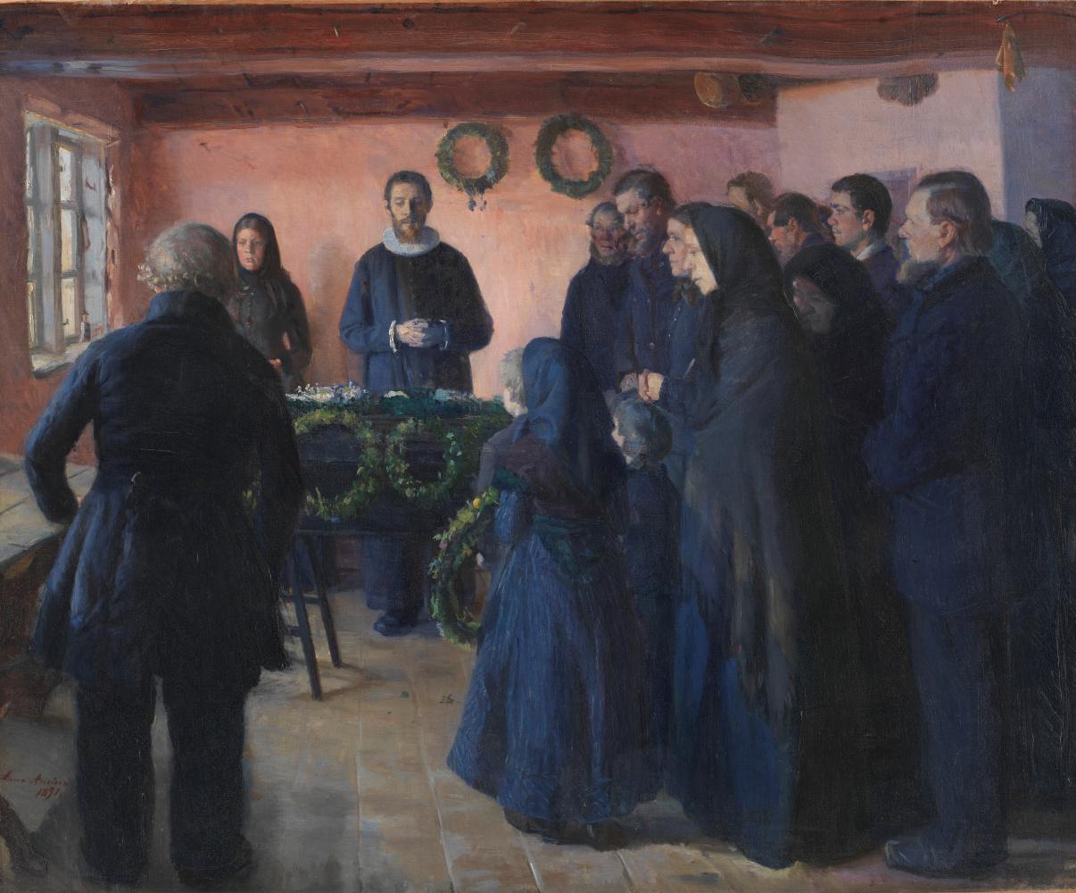 Anna Anchor. The funeral