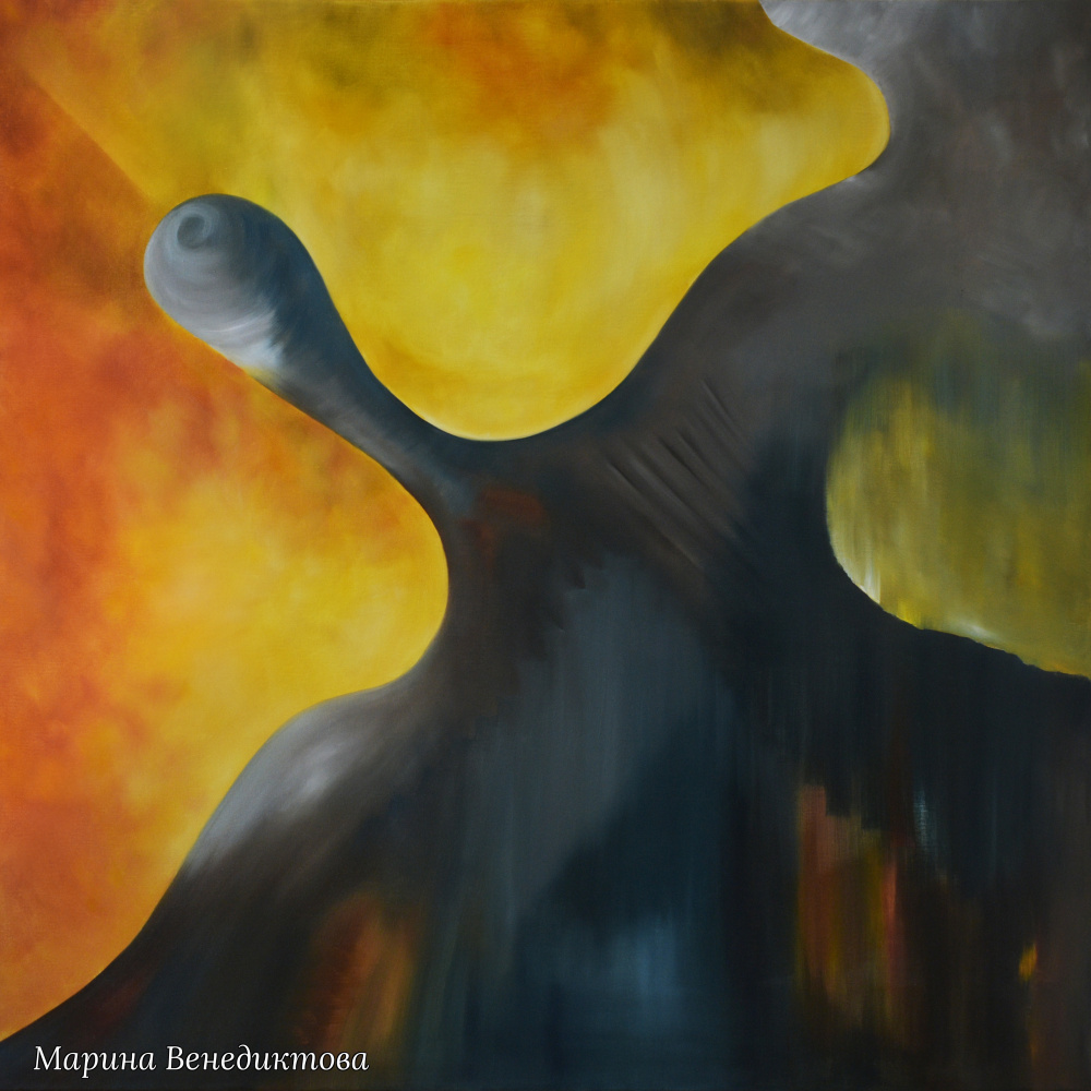 Marina Venediktova. A DREAM COME TRUE - original oil painting