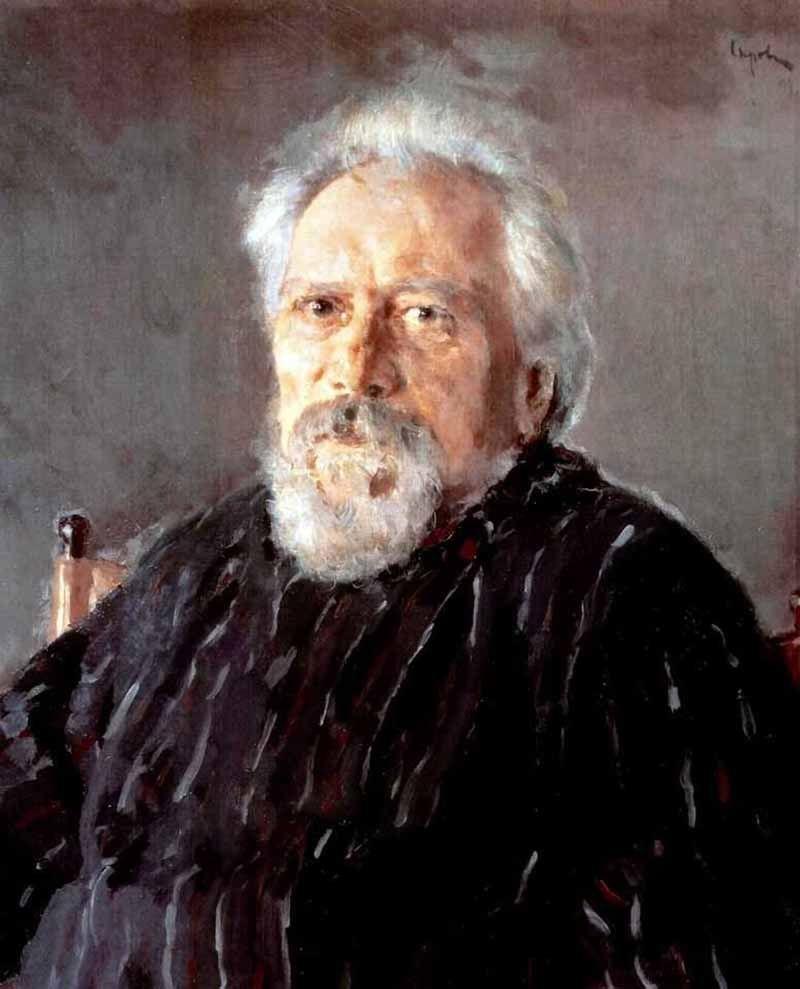 Валентин Александрович Серов. Портрет писателя Н. С. Лескова