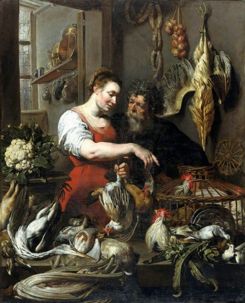 France Snyders. The Poulterer''s Shop