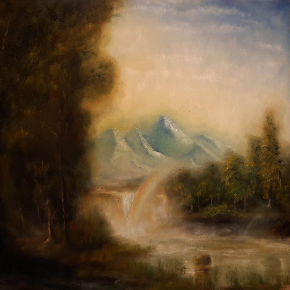 Ruslan Shakirov. Waterfall