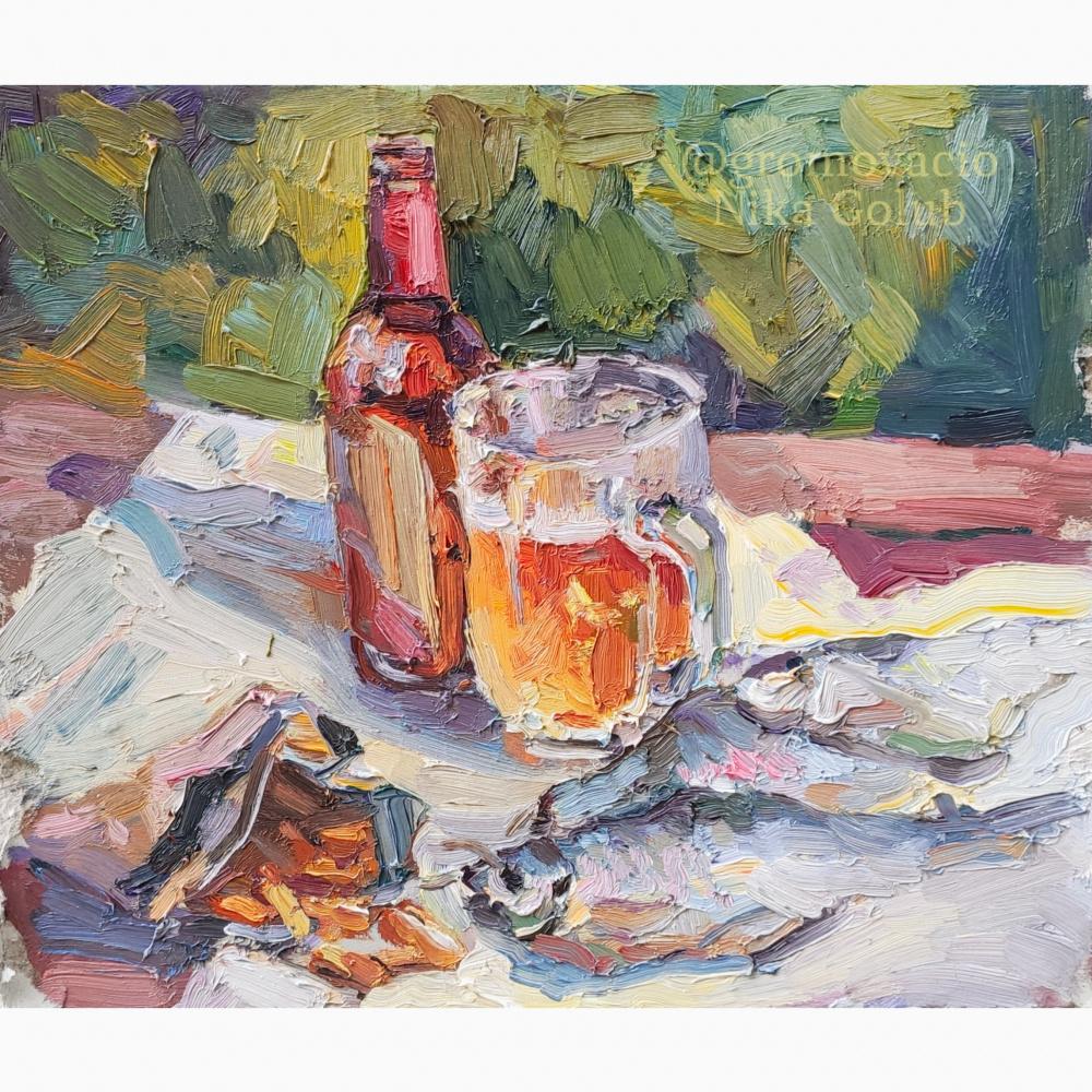 "Nika Golub. ""Glass of light"" / ""A glass of light"""