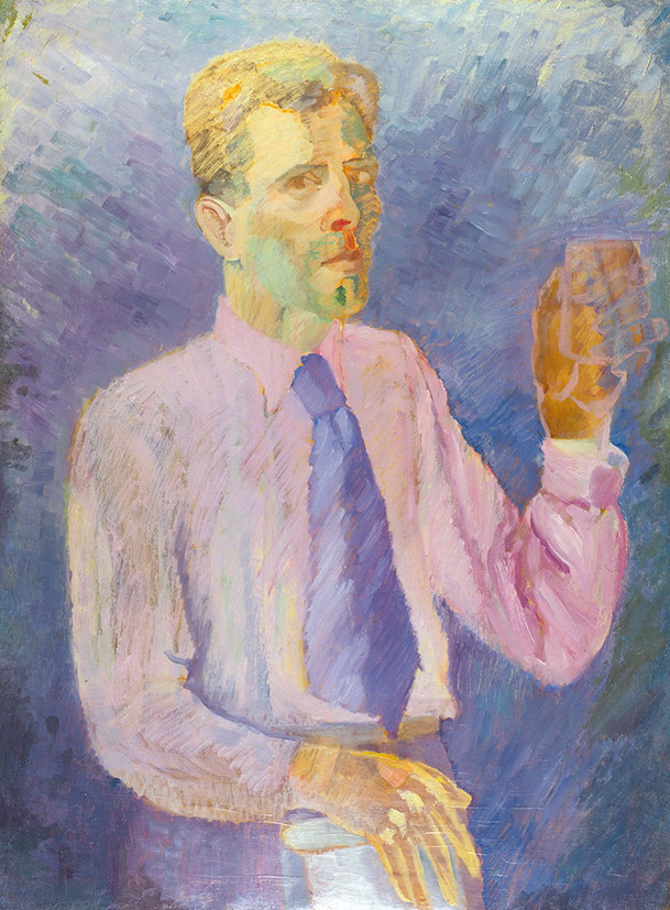Дмитрий Павлович Крапивный. Self-portrait