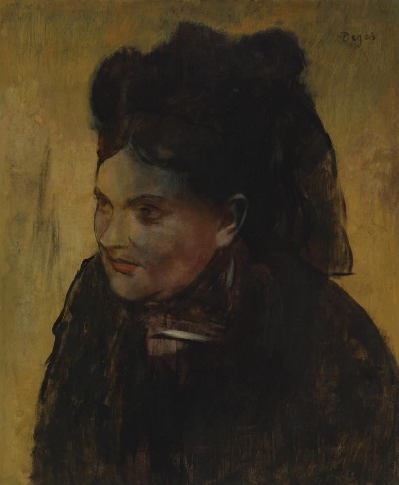 Эдгар Дега. Портрет женщины