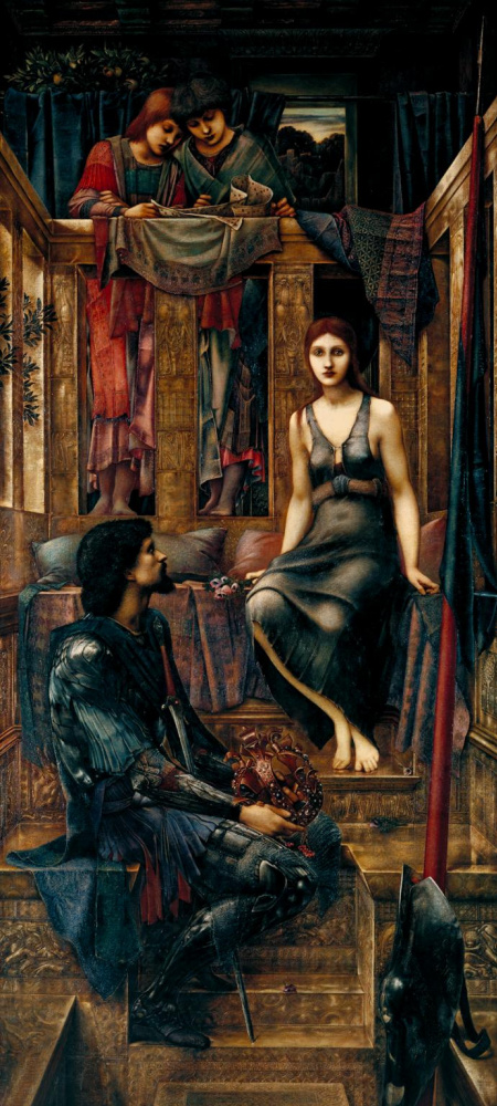 Edward Coley Burne-Jones. King Kofetau and beggar