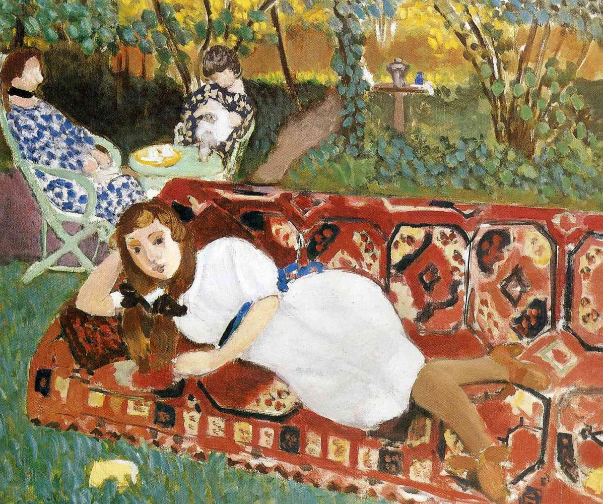 Анри Матисс. Молодые женщины в саду