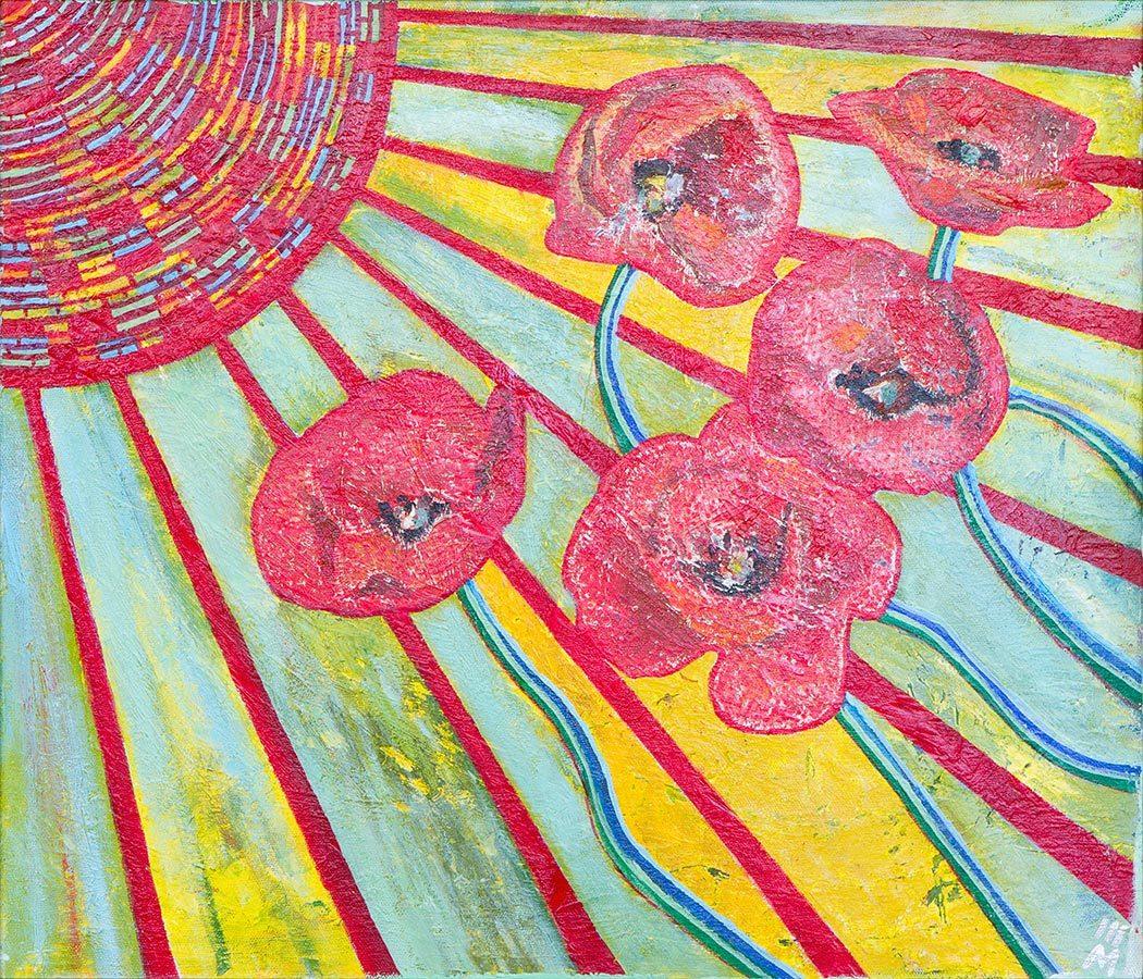 Евгений Морозов. Poppies