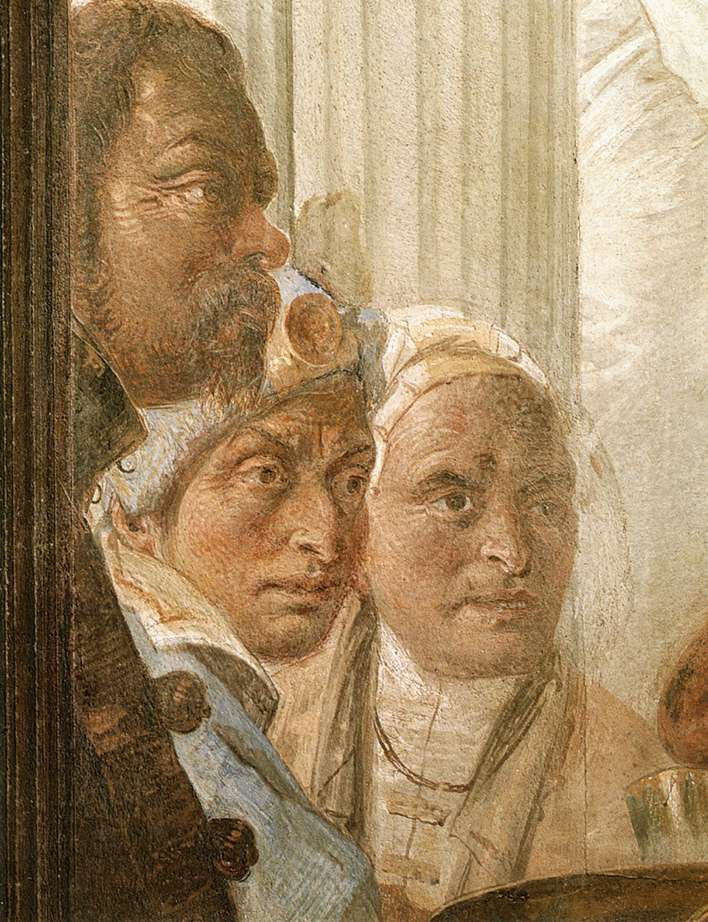 Джованни Баттиста Тьеполо. Клеопатра (фрагмент)
