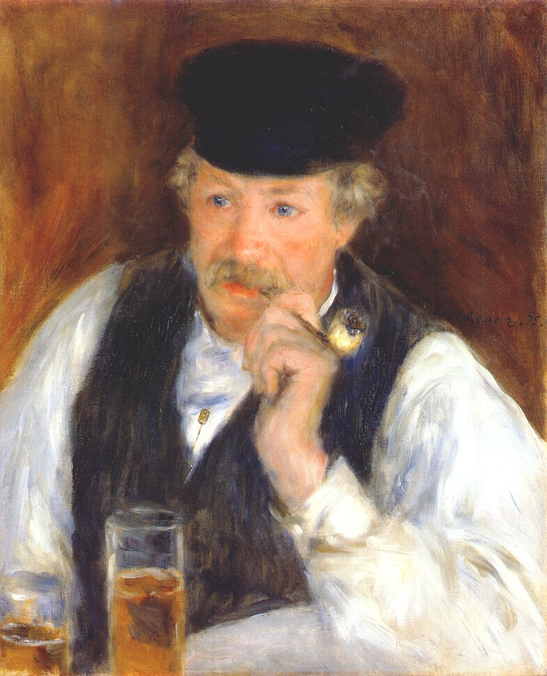 Pierre-Auguste Renoir. Portrait of Monsieur Fournaise