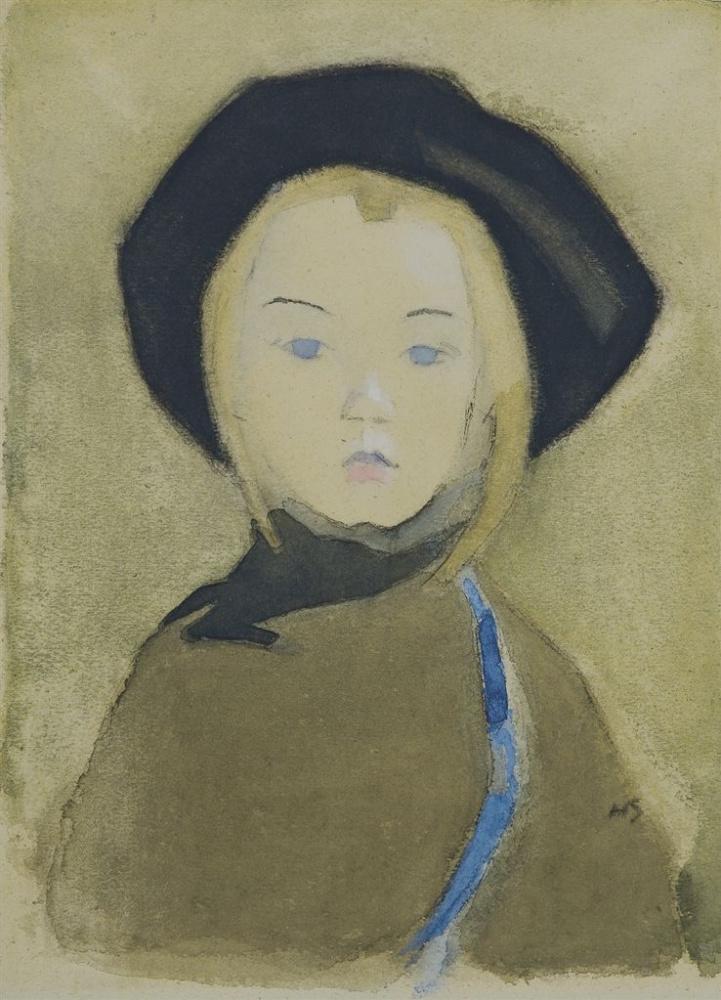 «Девочка с голубой лентой» (1943)